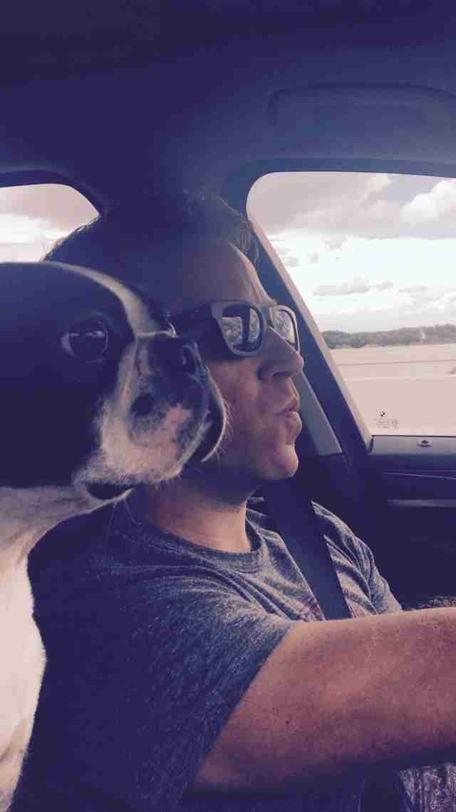 Dog Hates Getting His Nails Clipped, So His Dad Comes Up With An Idea