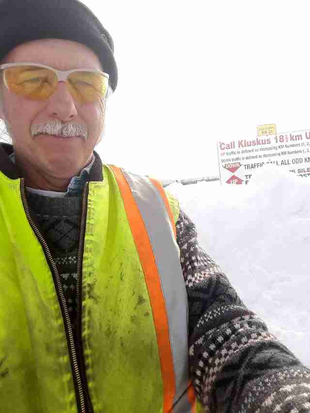 Man Sees Something Odd Sticking Out Of Snowbank — Then Realizes They're Legs