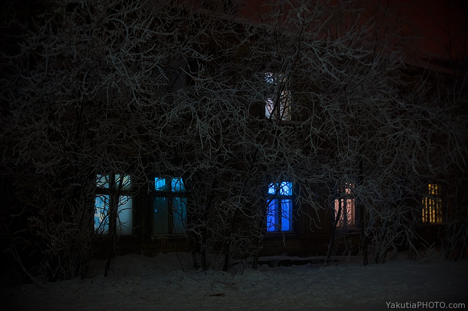 зимний якутск jakutsk im winter yakutsk in winter photo: ajar varlamov фото: айар варламов