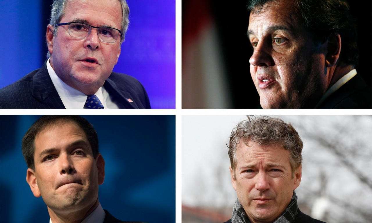 Who's most likely to end up as Republicans' nominee in 2016 presidential race