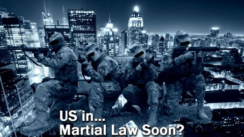 MARTIAL LAW: Obama's 'Transformation' Of America Has Begun