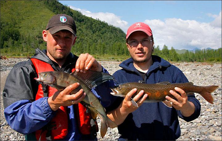 fishing, Kolyma