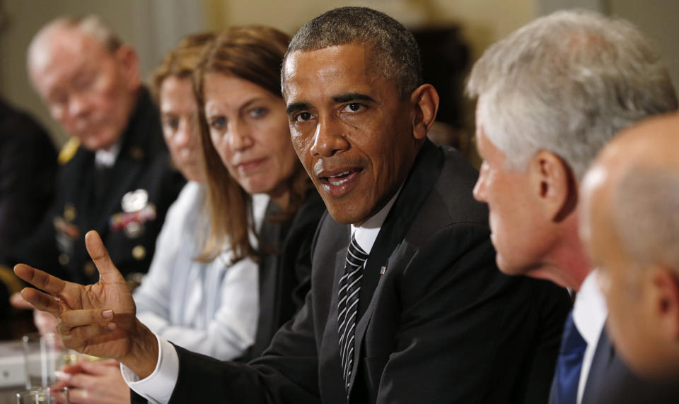 Obama: Feds must tackle Ebola 'in a much more aggressive way'