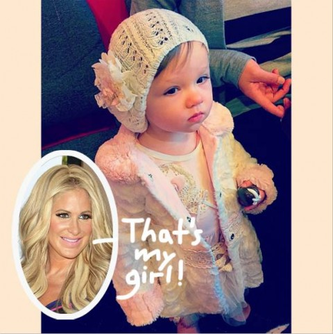 Kim Zolciak Posts Photo of 14-Month Old Daughter Kaia Rose