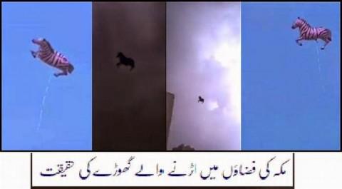 Flying Horse Miracle over Saudi Arabia Debunked