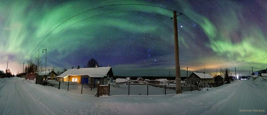 Northern lights in the sky over Murmansk region, Russia, photo 20