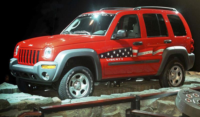 Jeep's Liberty Patriotic Edition is seen in a file photo taken at the North America Auto Show in Detroit