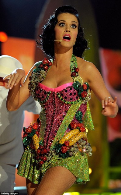 Chinese people call Katy Perry 'Fruit Sister'