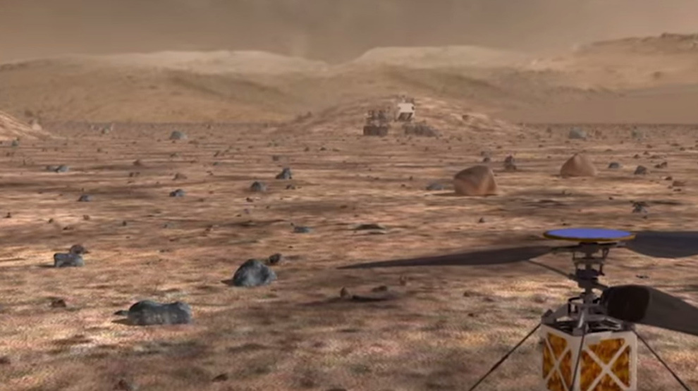 martian helicopters human colonies and drilling for - 990×555