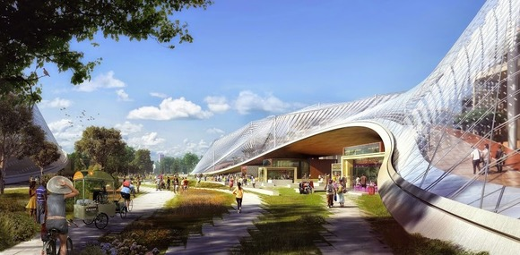 Google Reveals Plan for Futuristic New Headquarters