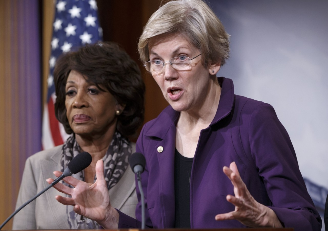 Warren leads liberal Democrats' rebellion over provisions in $1 trillion spending bill
