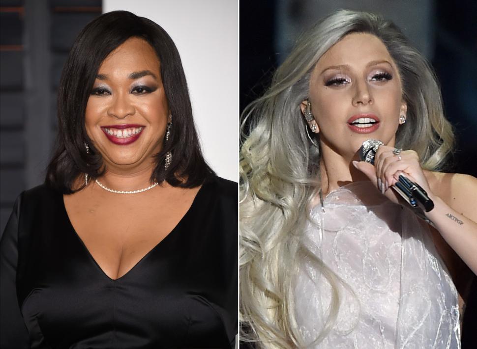 Shonda Rhimes Thinks Gaga's …