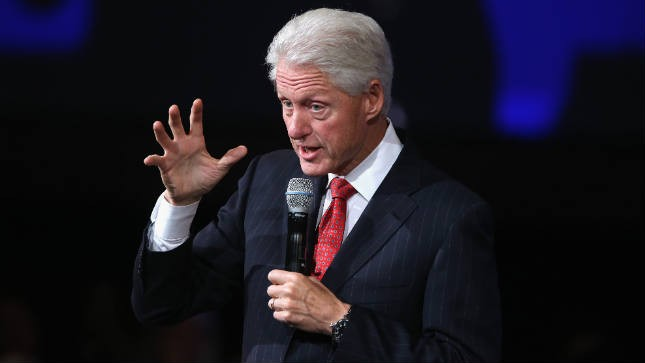 What to call a president's husband? Bill Clinton has ideas