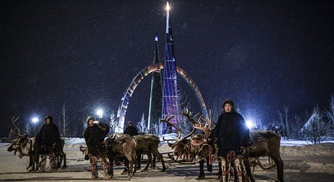 New Year in the Russian Far North