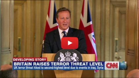 London False Flag Watch: UK Raises Terror Threat