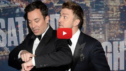 Justin Timberlake and Jimmy Fallon Open Saturday Night Live's 40th Anniversary Special