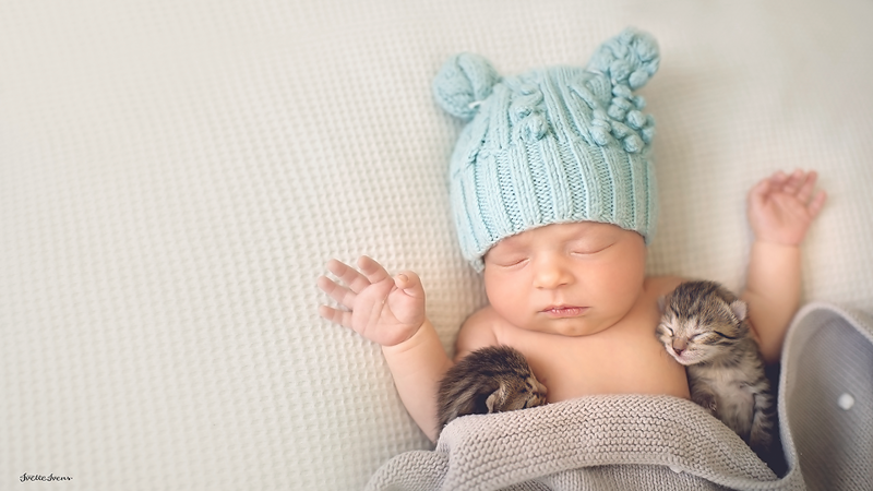 The Most Precious Photos Of Human And Non-Human Babies