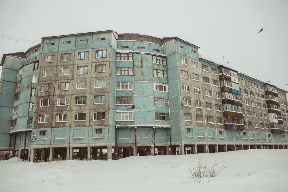 Vorkuta - city frozen in Soviet times