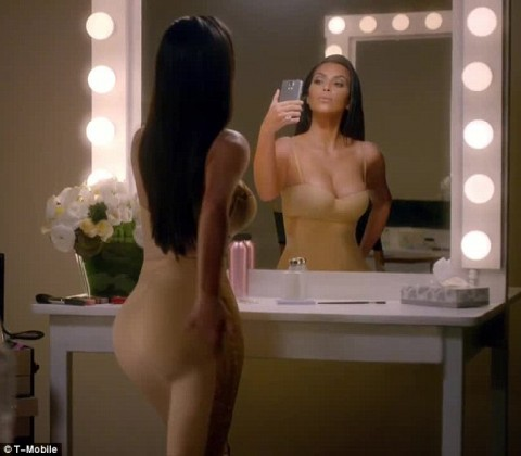 Kim Kardashian's new Super Bowl commercial makes fun of her narcissism