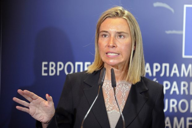 EU calls for anti-terror alliance with Arab countries