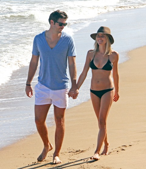 Kristin Cavallari Flaunts Insane Beach Bod in Tiny Black Bikini
