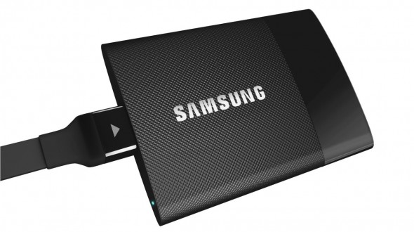 SSD in a package the size of a business card from Samsung