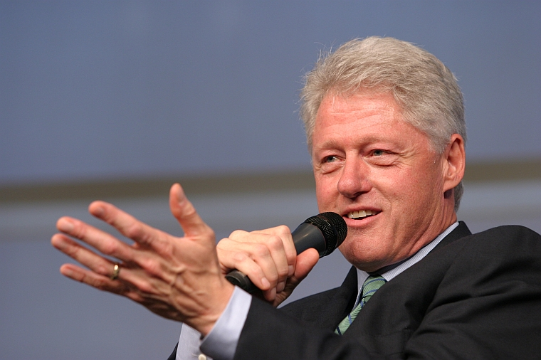 PERFECT RESPONSE FROM BILL  CLINTON
