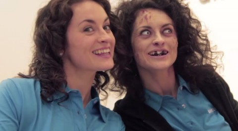 Samsung Scares the Crap Out of Shoppers With 'Zombie Switch' Stunt