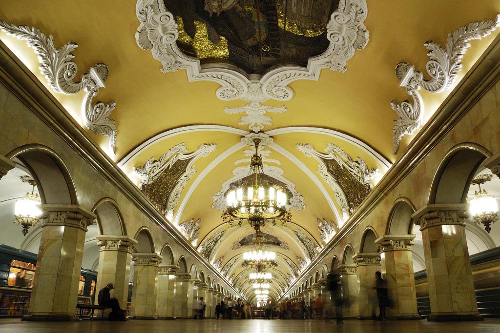 Metro Komsomolskaya (Source)