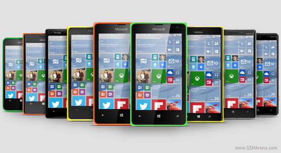 Most of Lumia smartphones will be updated Windows 10