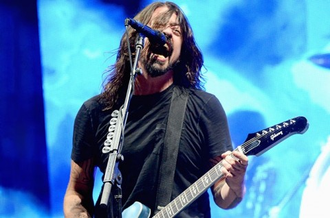 Foo Fighters' Dave Grohl Celebrate Birthday at All-Star L.A. Forum Concert