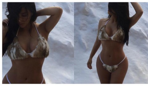 Kim Kardashian Wore A Furkini And It Is Everything