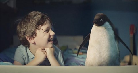 Kind John Lewis Monty's Christmas campaign