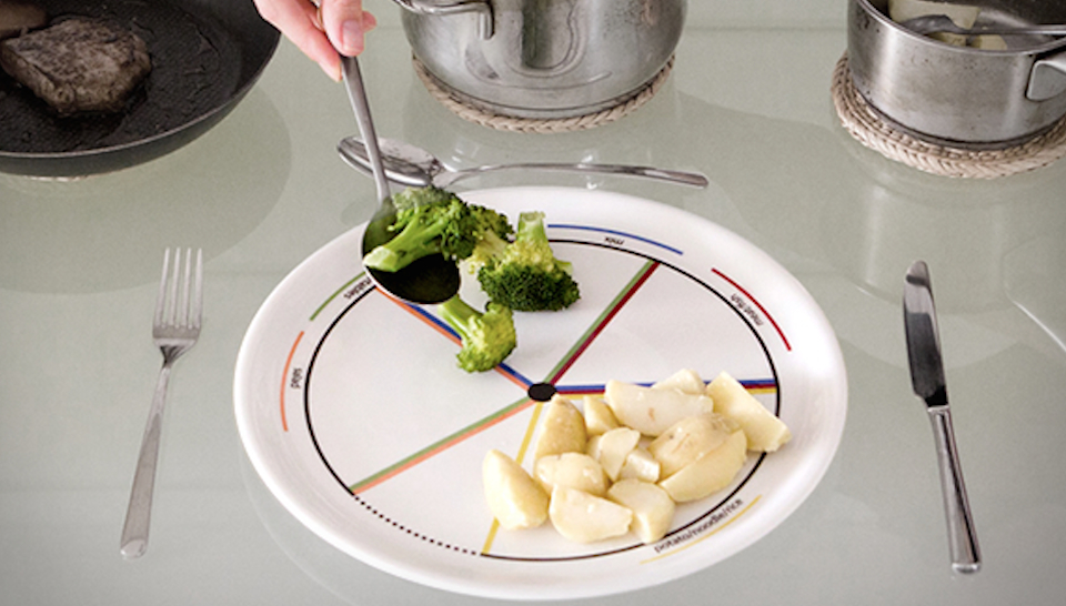 This Amazingly Designed Plate Can Stop You From Overeating